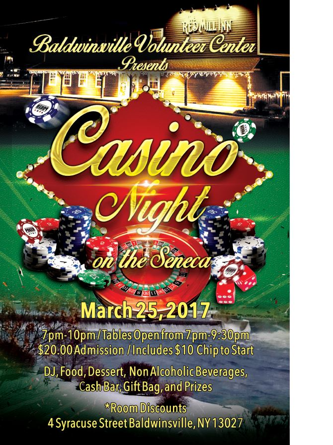 Casino Night on the Seneca 2017