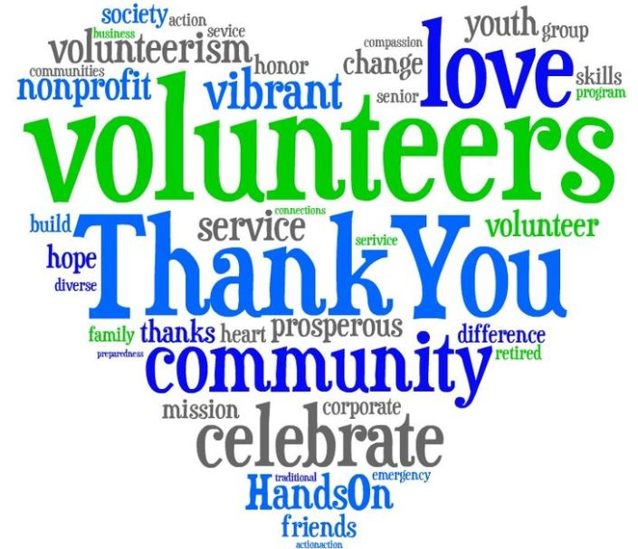 April is National Volunteer Month!
