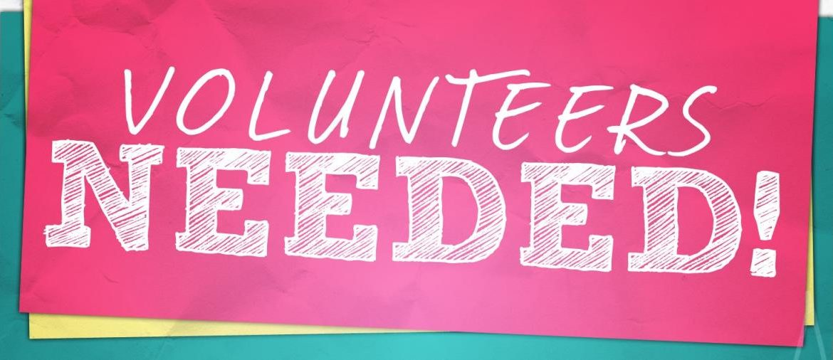 Volunteers Opportunities!!!